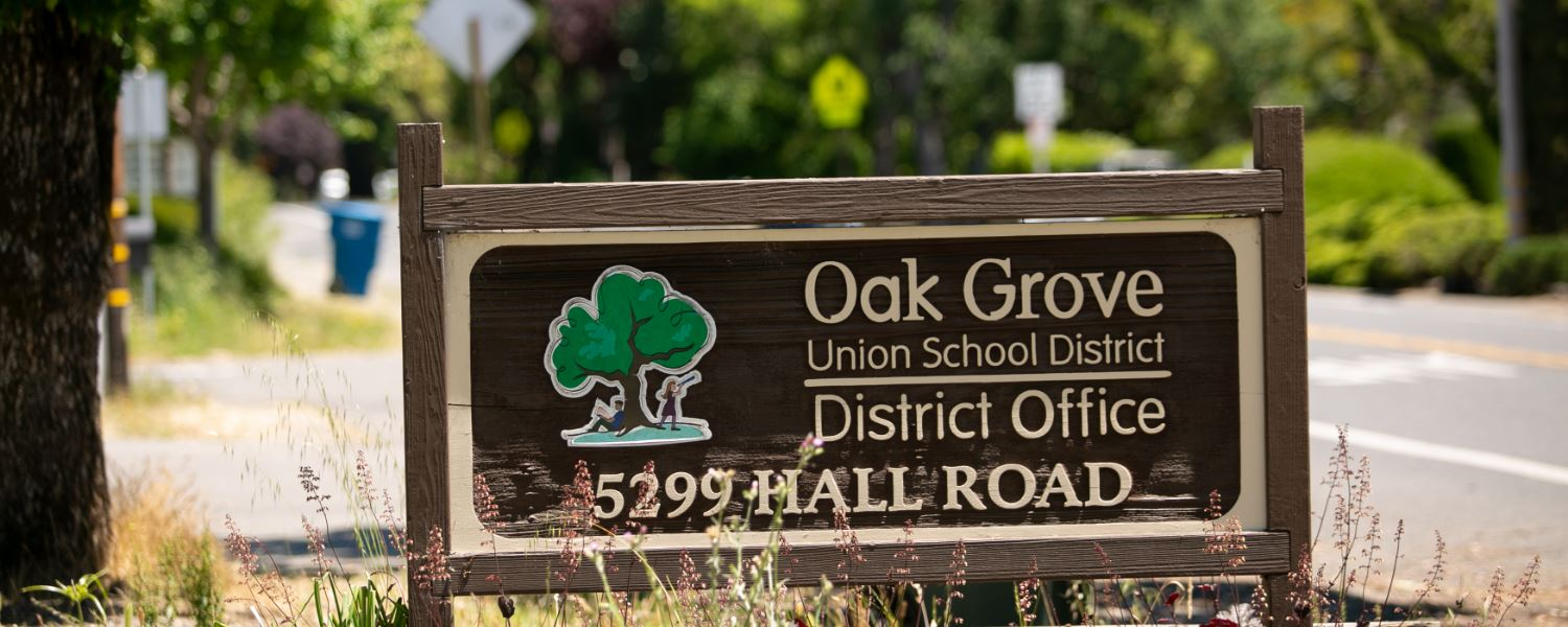 District Office Sign